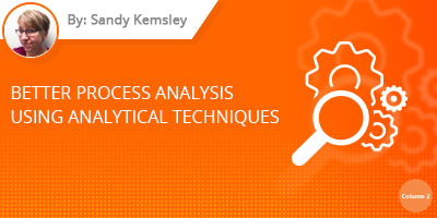 Sandy Kemsley - Better Process Analysis Using Analytical Techniques