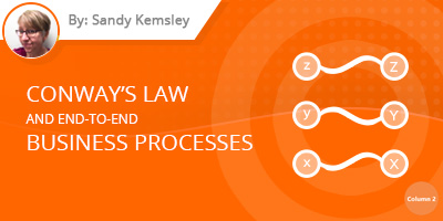 Sandy Kemsley - Conway's Law and End-to-End Business Processes