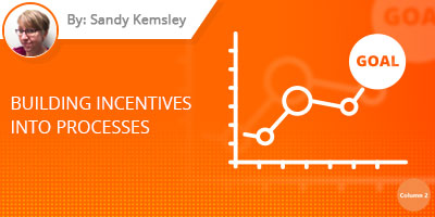 Sandy Kemsley Blog Post - Building Incentives Into Processes
