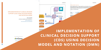 Implementation of clinical Decision Support using DMN