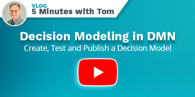 Decision Modeling in DMN - Play Video