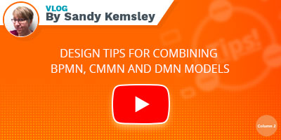 Design tips for combining DMN, CMMN and BPMN Models - Play Video