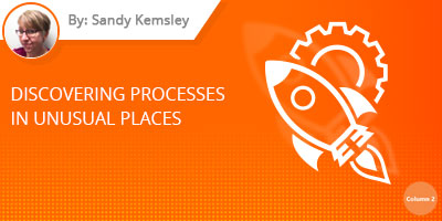 Sandy Kemsley - Discovering Processes in Unusual Places