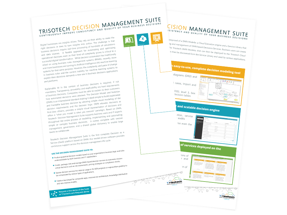 Decision Management Suite Brochure