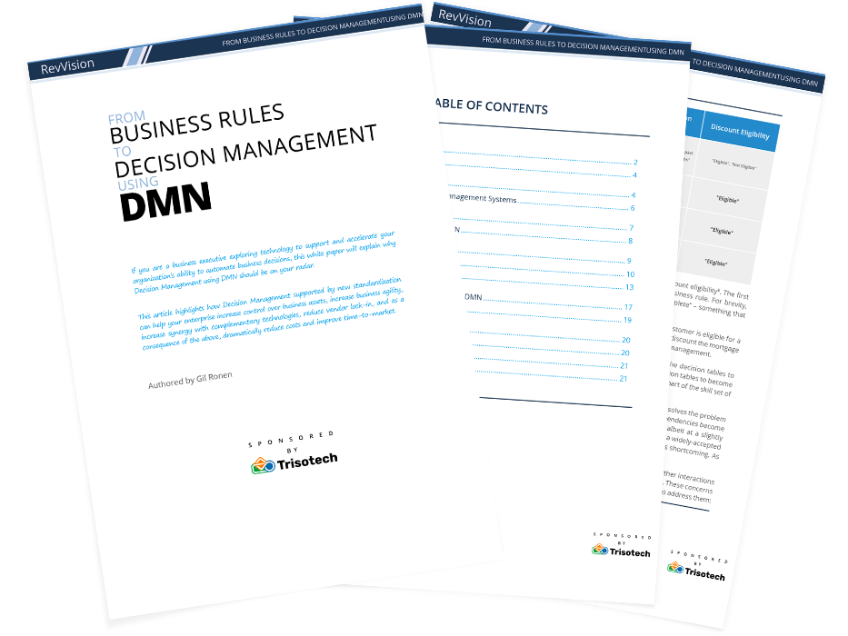 Business Rules to DMN
