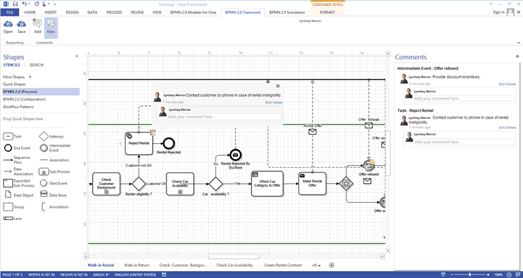 Bpmn visio transparencyg ccuart Image collections