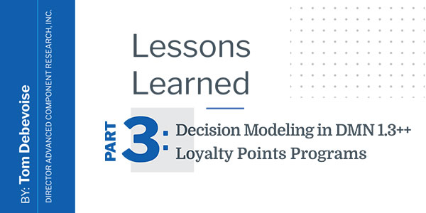 Decision Modeling in DMN 1.3++ for Loyalty Points Programs