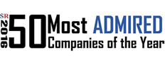 Top 50 Most Admired Companies of 2016