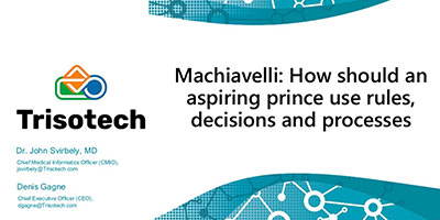 Machiavelli: How should an aspiring prince use rules, decisions and processes?